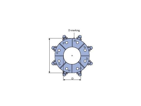 Máquina prensadora de mangueras 91C