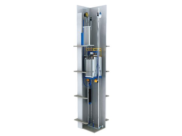 Ascensor sin cuarto de máquinas - Ascensor MRL | Fabricante | ETW ...