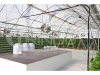 Sistema de cultivo hidropónico con marco en A